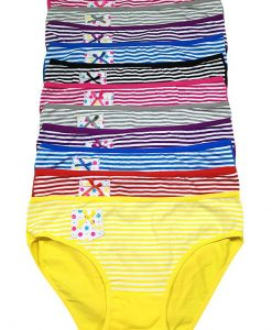 Grace Striped Bikini w/Pocket
