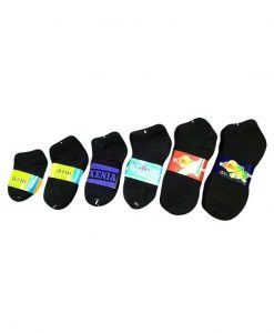 Boy/Girl Black Spandex Sock