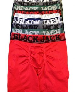 Black Jack Long Leg Seamless Boxer