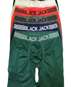 Black Jack Seamless Long Leg Boxer Brief