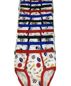 Boy's Cartoon Print Brief